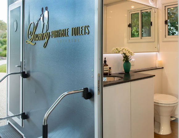Luxury portable toilets Brisbane